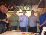 Ach dieses Jahr wieder erfolgreich: Sebastian Greiber beim Ortspokal des Schützenvereins Hubertus Wadgassen