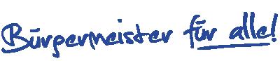 Sebastian Greiber - Bürgermeister für alle!