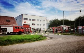 Auch dieses Jahr konnte Sich Sebastian Greiber ein Bild von der Einsatzfähigkeit unserer Feuerwehr in Wadgassen machen.