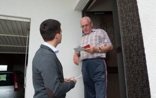 Vom 5. August bis zum 9. September hat Sebastian Greiber seine Haustürbesuche in Differten gemacht und konnte viele Anregungen und Ideen aufgreifen. Vielen Dank für den netten Empfang und die Unterstützung. Nächste Station ist nun der Ortsteil Friedrichweiler