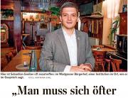 Sebastian Greiber im Portrait der Saarbrücker Zeitung