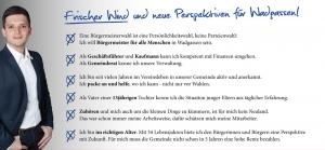 Sebastian Greiber: Frischer Wind für Wadagssen