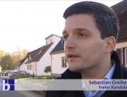 Sebastian Greiber im SR-Fernsehen