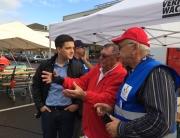 Sebastian Greiber besuchte den 1. Seniorensicherheitstag in Wadgassen