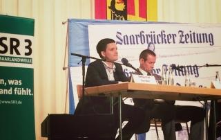 Sebastian Greiber bei der Podiumsdiskussion