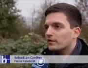 SR Fernsehen: Freier Kandidat Sebastian Greiber