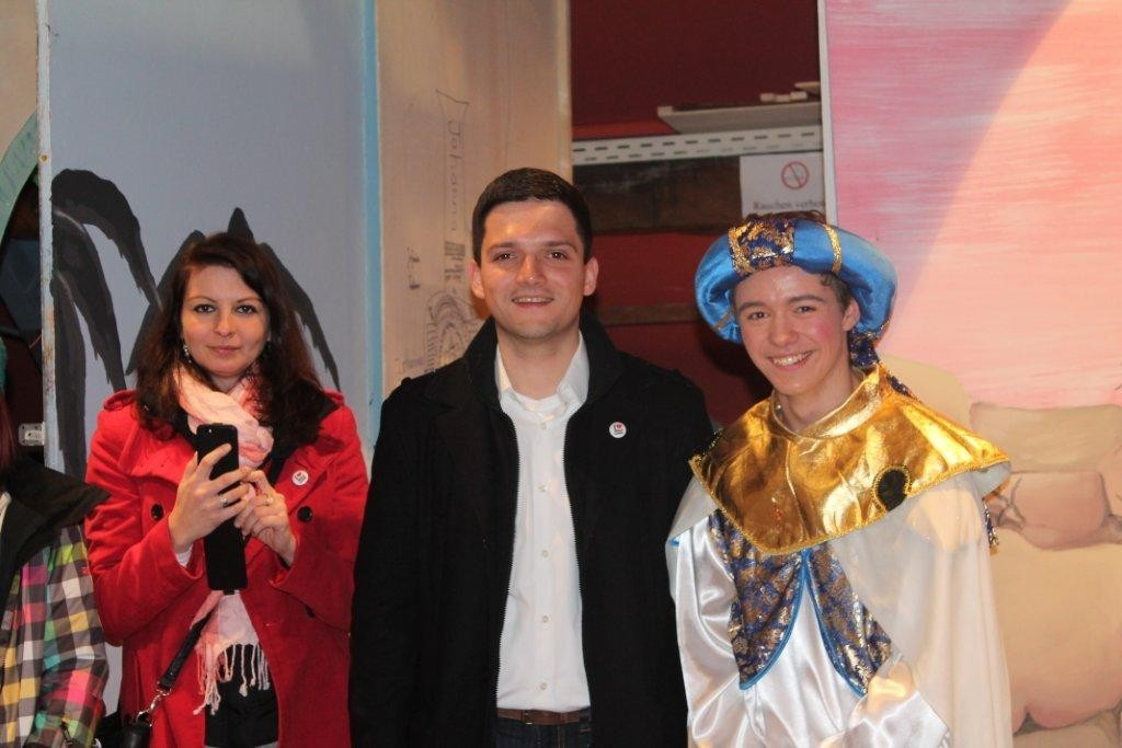 Sebastian Greiber war auch am 8. Dezember, kurz vor der Stimmenauszählung, zu Gast bei den Maulwürfen. Wie in jedem Jahr ein tolles Stück!