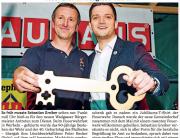 02.05.2014 Saarbrücker Zeitung: Neuer Chef im Wadgasser Rathaus