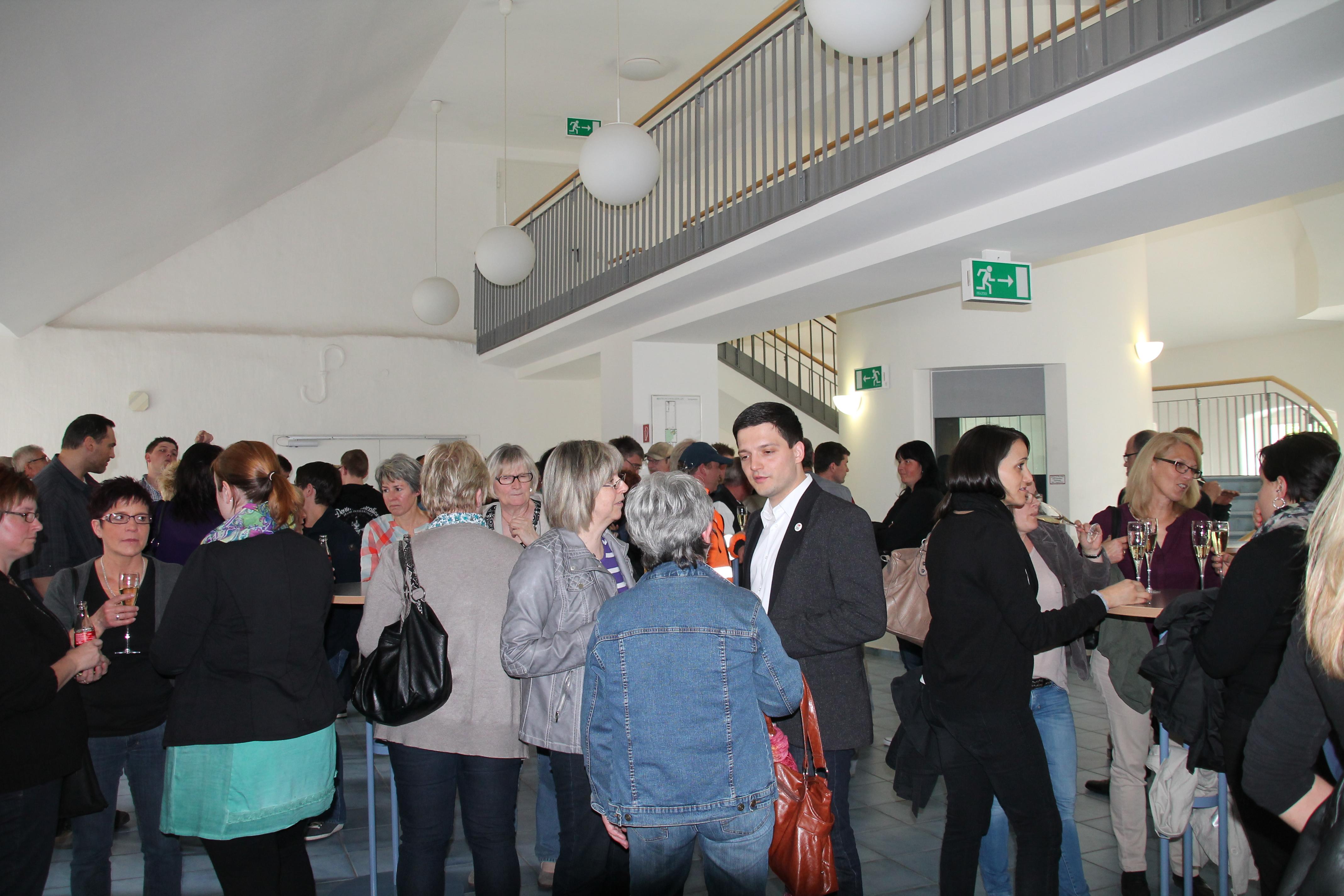 Bürgermeister Greiber lud die Mitarbeiter der Gemeinde Wadgassen zur Personalversammlung ein.