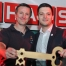 Amtsantritt von Bürgermeister Sebastian Greiber mit Schlüsselübergabe beim maifest der Feuerwehr Werbeln