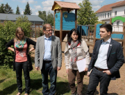 Bürgermeister Greiber besucht die Grundschule Schaffhausen