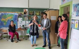 Greiber besucht neue Ganztagsschule in Wadgassen