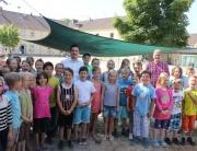 Beim Sportfest der Grundschule in Hostenbach habe ich unseren Grundschülern versprochen, noch vor der Ferien unseren Standort zu besuchen. Umso mehr habe ich mich letzte Woche über die freudige Begrüßung der Grundschüler bei meinem Besuch vor Ort gefreut.