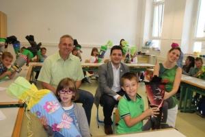 Einschulung 2014 in der Grundschule Differten