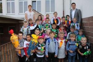 Einschulung 2014 in der Grundschule Schaffhausen