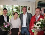Herzlichen Glückwunsch zum 92. Geburtstag unserer Ehrenbürgerin Emilie Koch