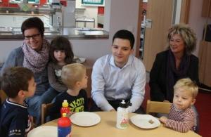 Antrittsbesuch im Kindergarten Waldwichtel Friedrichweiler