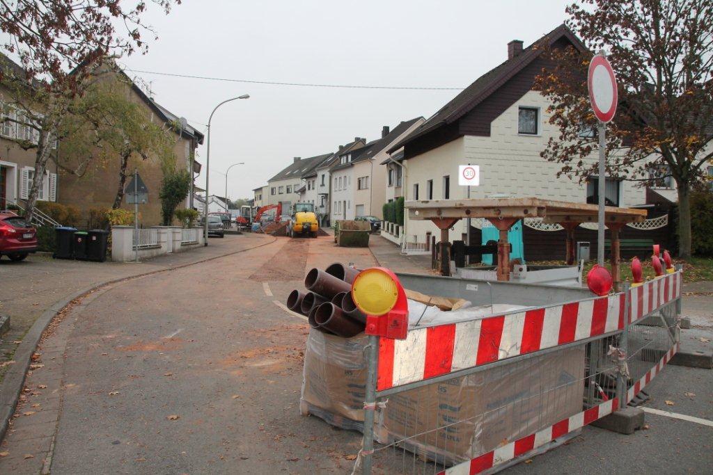 Im Dorf wird gebaut