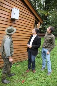 Luftsensor im Wildpark Differten
