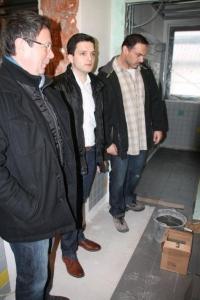 Zwischenstand beim Umbau der Abteischule Wadgassen