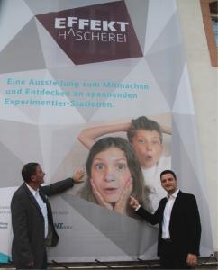 Ausstellung Effekt Hascherei im Zeitungsmuseum Wadgassen