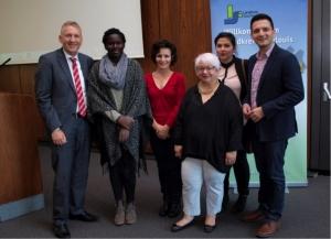 Herzlich Willkommen: Einbürgerungsfeier im Landratsamt Saarlouis