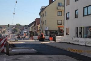 Die Bauarbeiten am Kreisel Schaffhausen sind im Zeitplan