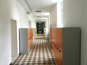Die Flure in der Abteischule Wadgassen sind renoviert