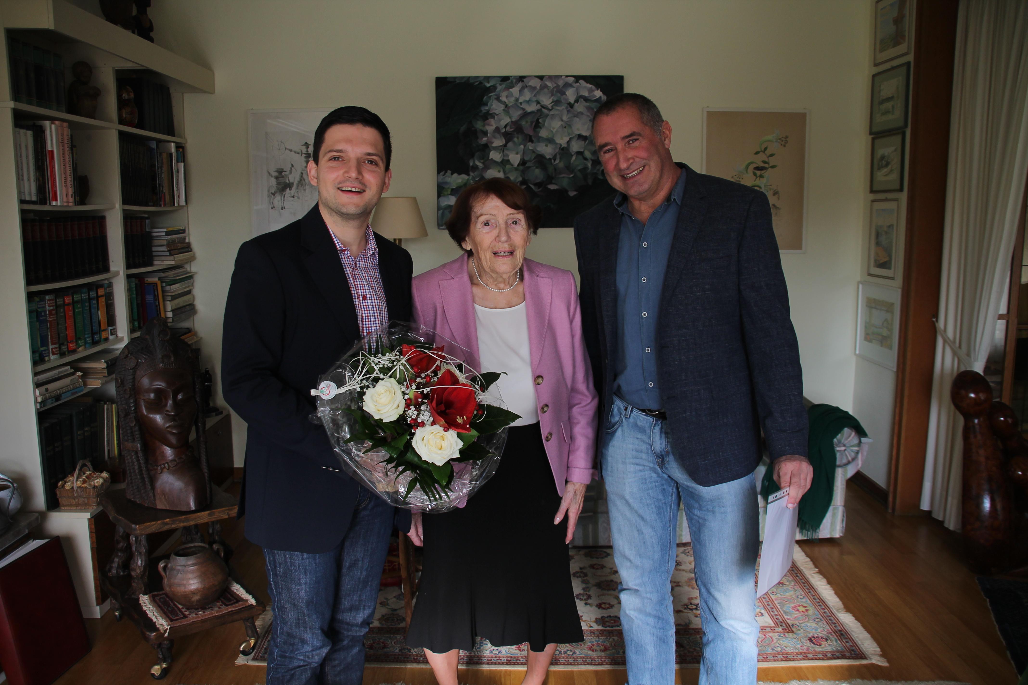 93. Geburtstag von Emilie Koch