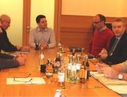 Ortsvorsteher Besprechung mit Landrat Patrik Lauer