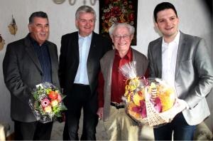 Friedrich Scheerer feiert seinen 101. Geburtstag