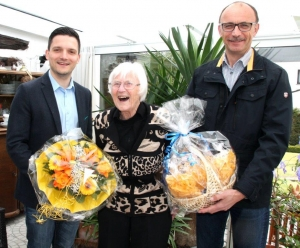 Ursula Schönfeld aus Friedrichweiler feiert Ihren 90. Geburtstag