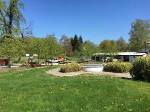 Vorbereitungen im Parkbad Wadgassen