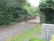 Verbindungsweg zum Wadgasser Friedhof