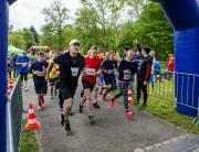 Abtei-Race Wadgassen: Start des Jedermann-Laufs. Foto: Rolf Ruppenthal/ 15. Mai 2016
