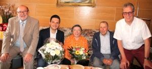 Eiserne Hochzeit des Ehepaars Ursula und Josef Switalla