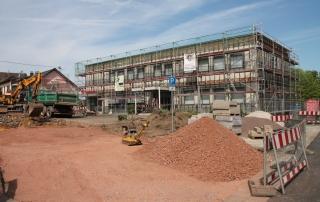 Das Gemeindehaus bekommt eine neue Fassade
