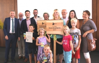 Kreisumweltpreis auch an die Grundschule Schaffhausen verliehen