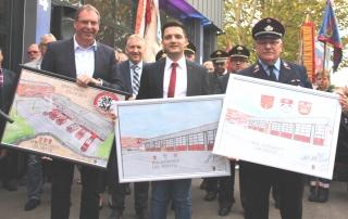 Einweihung des neuen Feuerwehrgerätehauses