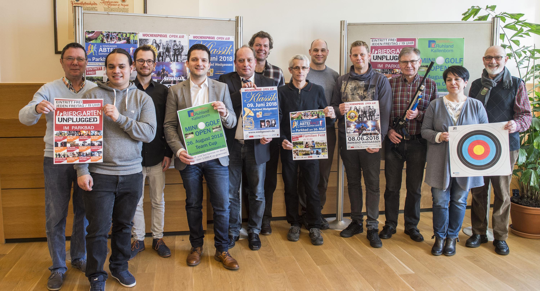 Kultursommer Wadgassen.  Foto: Rolf Ruppenthal/  21. FEb. 2018