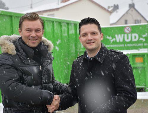 WUD neuer Partner beim Wertstoffhof Wadgassen