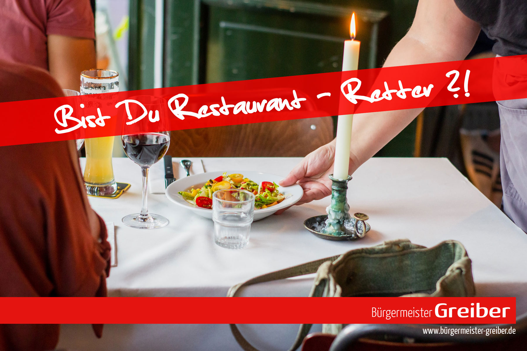 Restaurant-Retter gesucht!